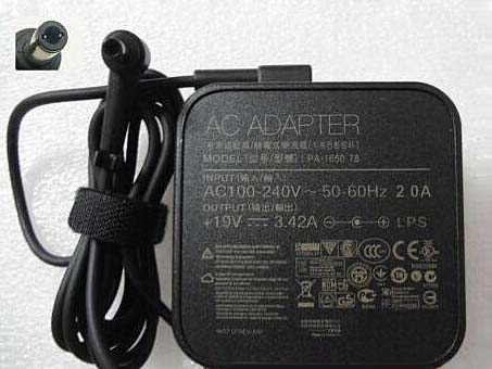 Adapter 100-240V, 50-60Hz (for worldwide use) 19V  3.42A,  65W Netzteil
