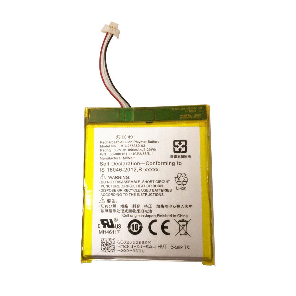 58-000151 batterie-PC-portatili