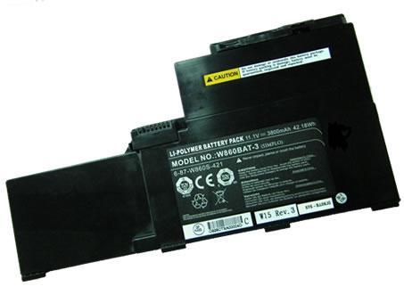 CLEVO 3800mah 11.1V batterie