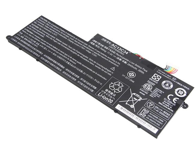 AC13C34 2640mAh 11.4V batterie