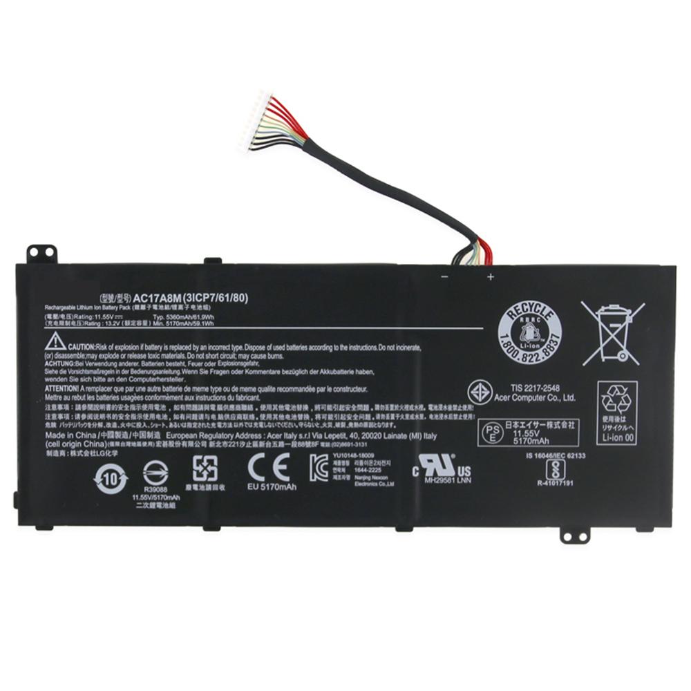 AC17A8M batterie-PC-portatili