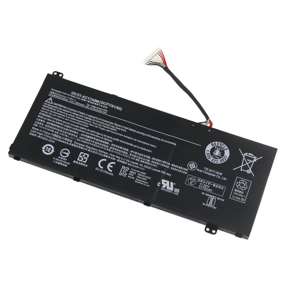Acer Spin 3 SP314 51 14 Akku