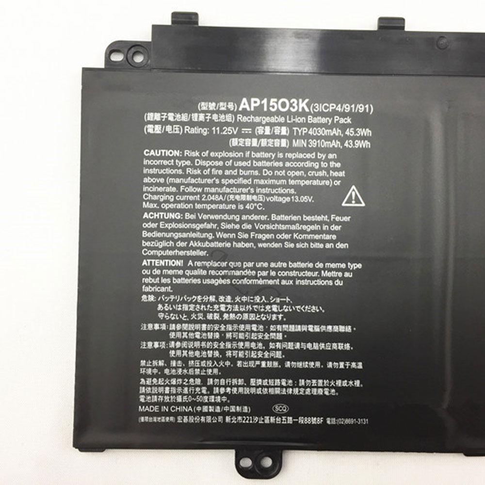 Acer Aspire S13 S5 371 Series Akku