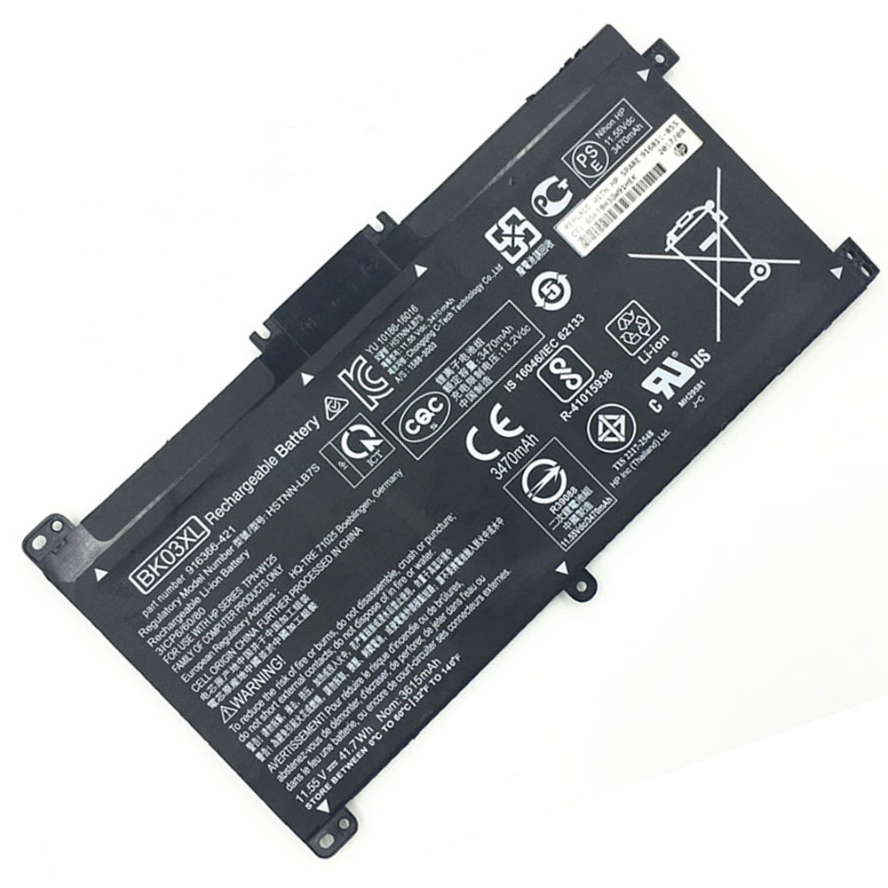 BK03XL batterie-PC-portatili