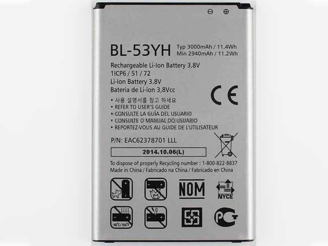 LG G3 D850 D855 VS985 F400 Akku