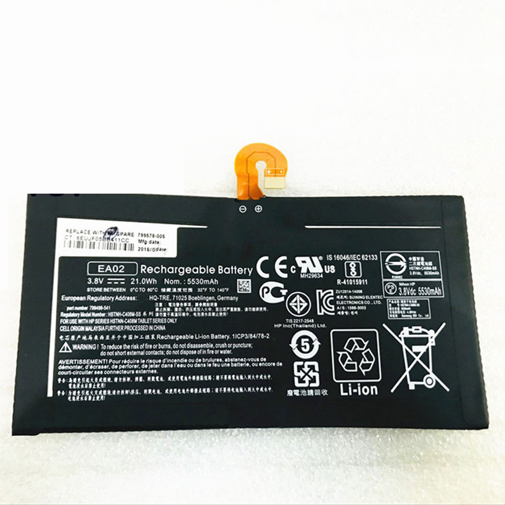 EA02 batterie-PC-portatili