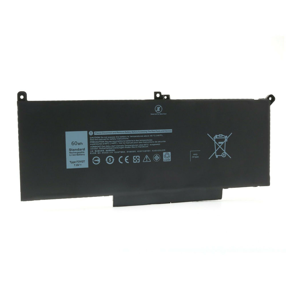 DELL Latitude 12 7000 7280 7480 60Wh 7.6V batterie