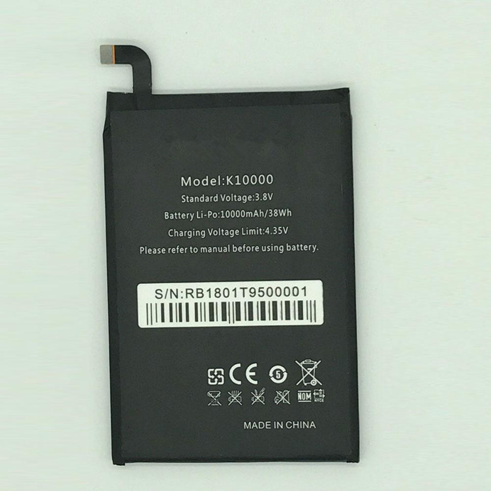 K10000 10000mAh/38WH 4.35V batterie