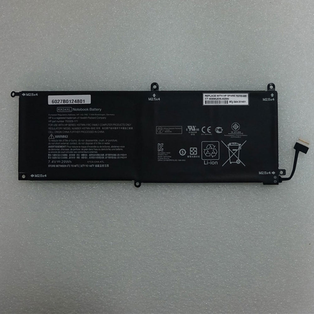 KK04XL batterie-PC-portatili