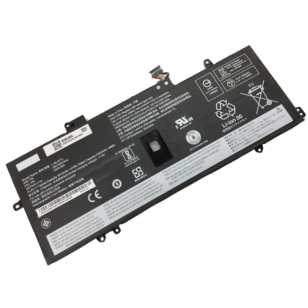 Lenovo ThinkPad X1C 2019 02DL005 L18C4P71 Akku
