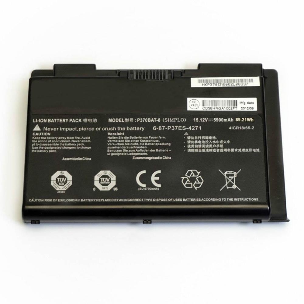 clevo X900 P370EM P370SM P370S... Batterie