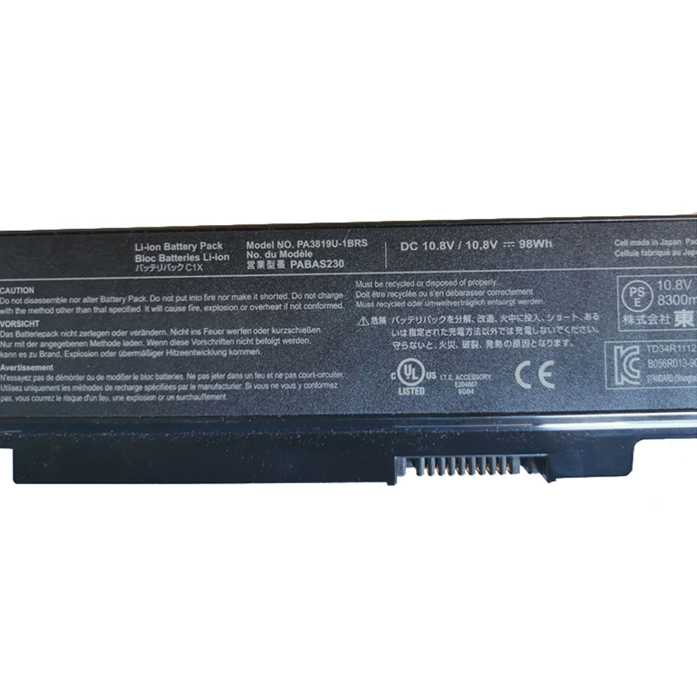 Toshiba A665 C655 C675 L65 L750 1DM L750 1EK Akku
