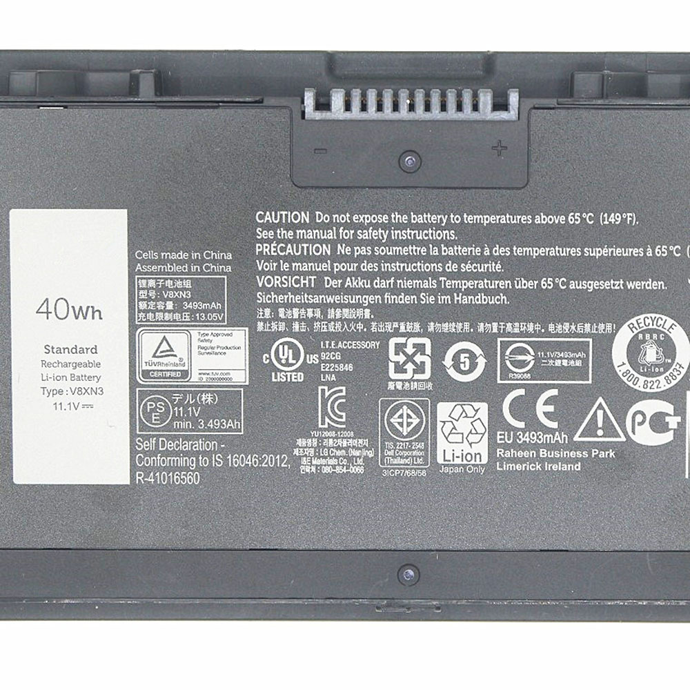 Dell Latitude E7440 E7420 3RNFD G95J5 G95J5 5K1GW Akku