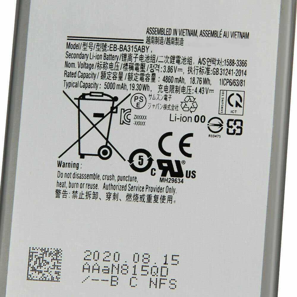 Samsung Galaxy A31 Akku