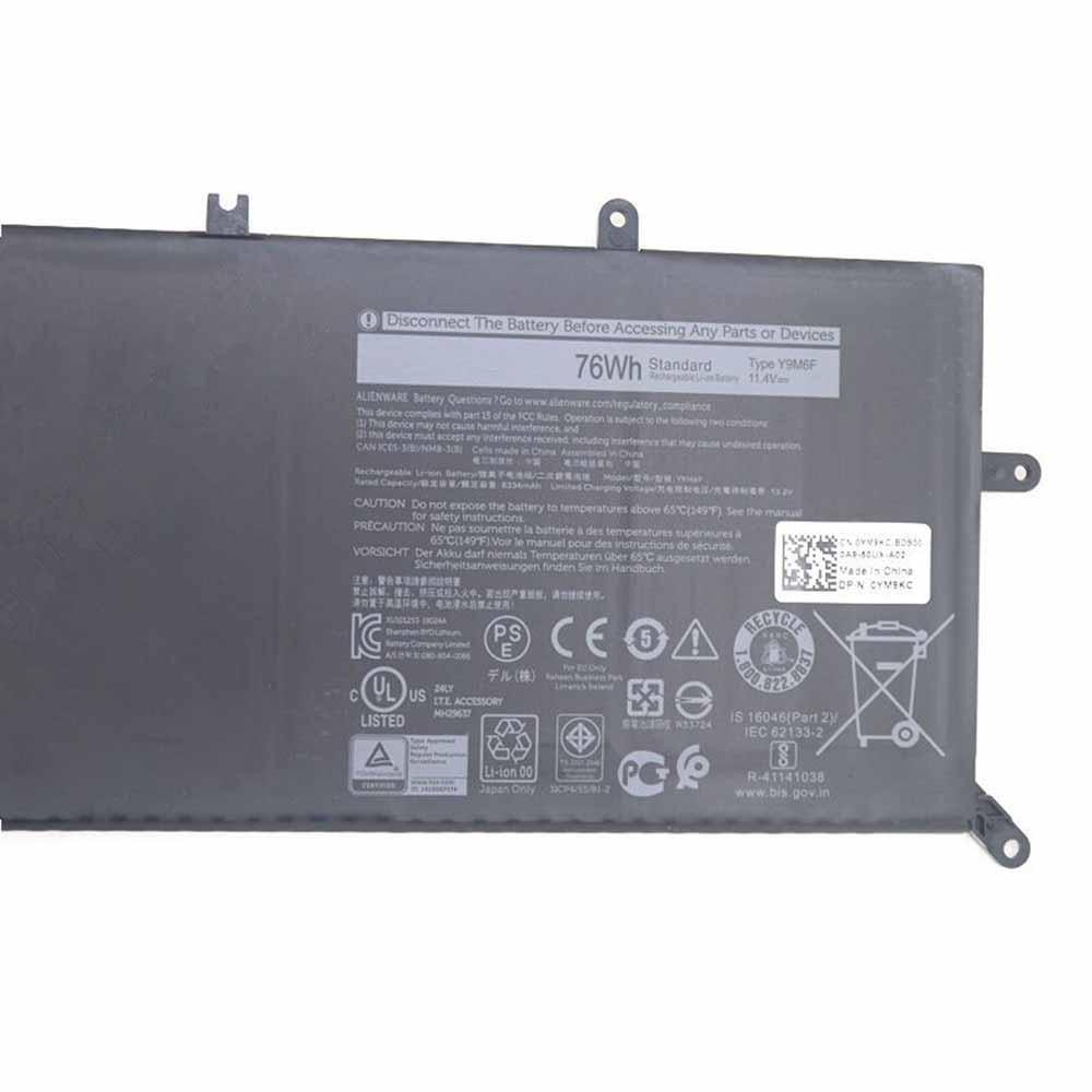Dell Alienware M15 R2 M17 R2 Akku